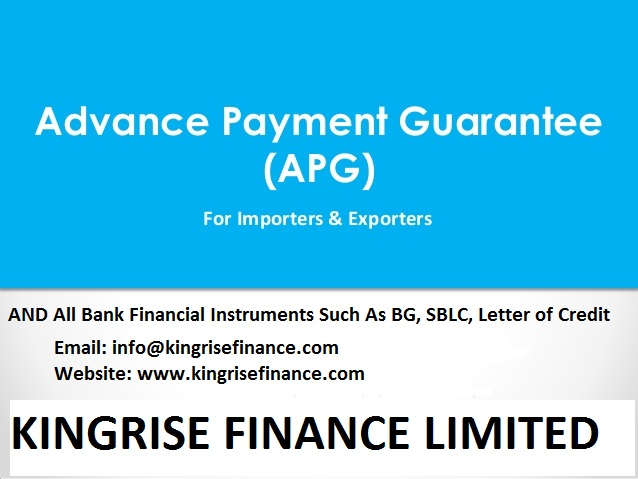 Advance Payment Guarantee Providers- Kingrise Finance Limited, Advance Payment Guarantee, Advance Payment Guarantee providers, lease Advance Payment Guarantee, Advance Payment Guarantee provider, Lease Advance Payment Guarantee, lease bank instrument providers, international bank guarantee providers, #AdvancePaymentGuarantee, #AdvancePaymentGuaranteeproviders, #leaseAdvancePaymentGuarantee,