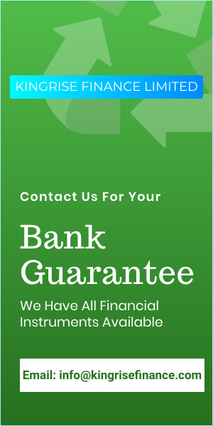 international bank guarantee providers- Kingrise Finance Limited