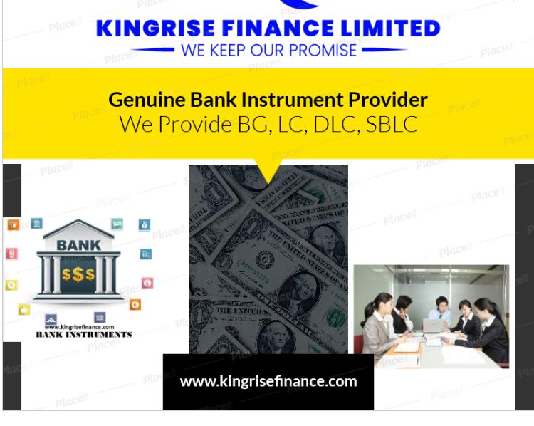 Lease Bank Guarantee providers- Kingrise Finance Limited