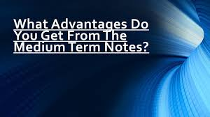 Advantages of medium term notes by Kingrise Finance Limited