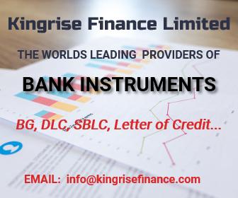 Lease Bank Guarantee (BG) & SBLC Providers | Kingrise Finance Limited