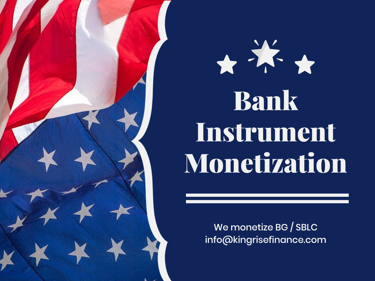 monetizers of bank instruments- monetize bg sblc