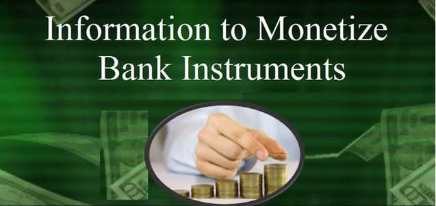BANK INSTRUMENT MONETIZATION