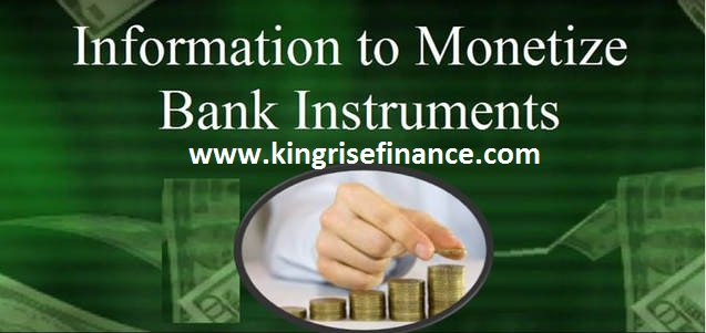 monetizers of bank instruments - Bank Instrument Monetization | Kingrise Finance Limited