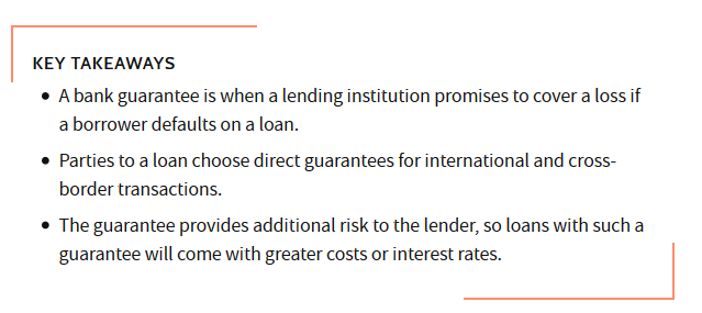 bank guarantee key takeaways